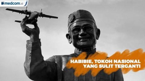 Habibie Dianggap Tokoh Nasional yang Sulit Terganti
