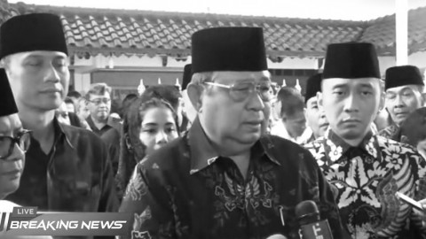 Susilo Bambang Yudhoyono: Indonesia Kehilangan Putra Terbaik Bangsa