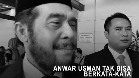 Anwar Usman Tak Bisa Berkata-kata Usai Pimpin Serah Terima Jenazah Habibie