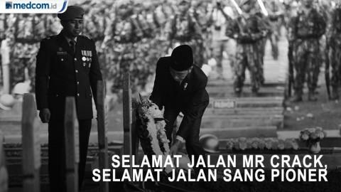 Jokowi: Selamat Jalan Mr Crack, Selamat Jalan Sang Pioner