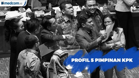 Profil 5 Pimpinan KPK Terpilih Periode 2019-2023