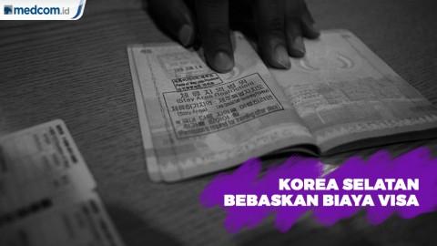Korea Selatan Bebaskan Biaya Visa