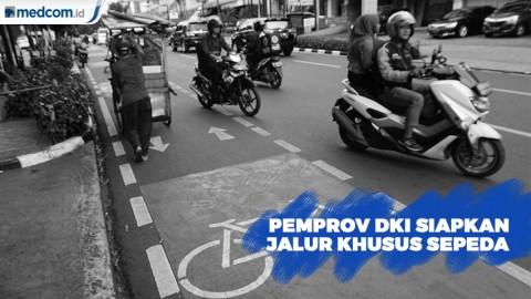 Jalur Khusus Sepeda Ditargetkan Rampung Akhir 2019