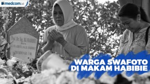 Keluarga Tanggapi Maraknya Warga yang Berswafoto di Makam Habibie