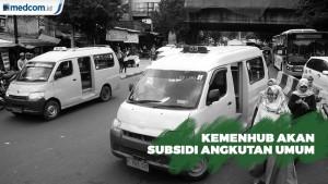 Kemenhub akan Subsidi Angkutan Umum