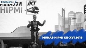 Joko Widodo Buka Munas HIPMI 2019
