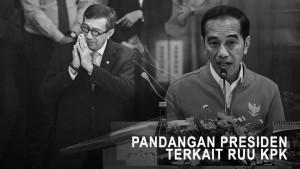 Pandangan Presiden Terkait RUU KPK