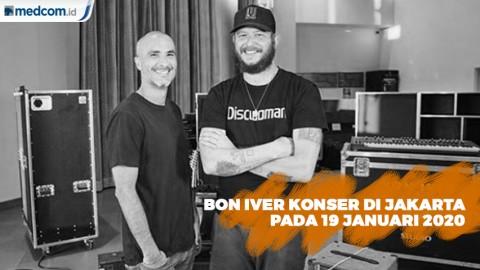 Bon Iver akan Gelar Konser di Jakarta