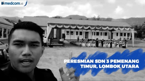 Media Group Resmikan Sekolah di Lombok