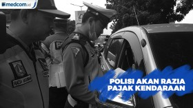 Polisi Akan Razia Pajak Kendaraan di Jakarta