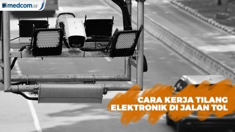 Cara Kerja Kamera Tilang Elektronik di Jalan Tol