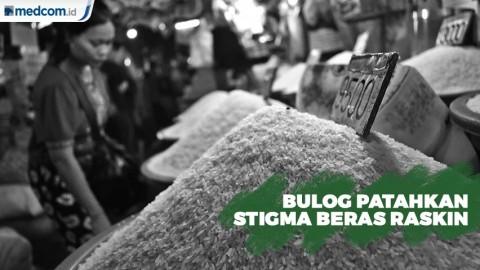 Bulog Patahkan Stigma Beras Raskin