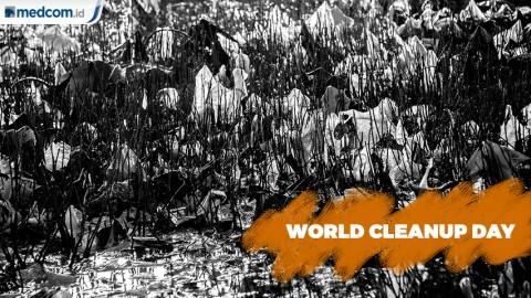 Warga Bersih-bersih Sampah, Peringati World Cleanup Day