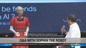 Q & A with Sophia the Robot (2)