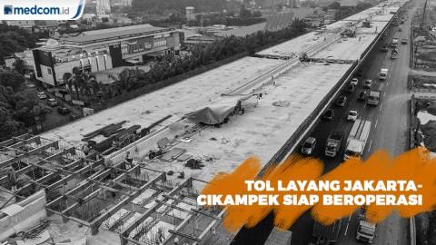 Tol Layang Jakarta-Cikampek Mulai Beroperasi November 2019