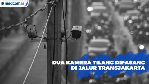 Jalur Transjakarta Pasar Minggu-Mampang Dipasang Dua Kamera Tilang