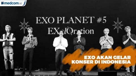 EXO akan Gelar Konser di Indonesia 23 November Mendatang