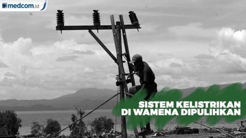 Sistem Kelistrikan di Wamena Dipulihkan