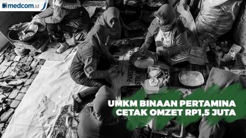 Pertamina Kembangkan UMKM Jos Gandos di Jambangan