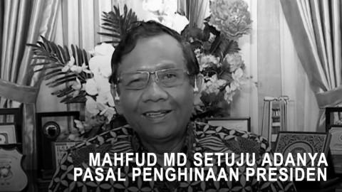 Highlight Primetime News - Mahfud MD Setuju Adanya Pasal Penghinaan Presiden