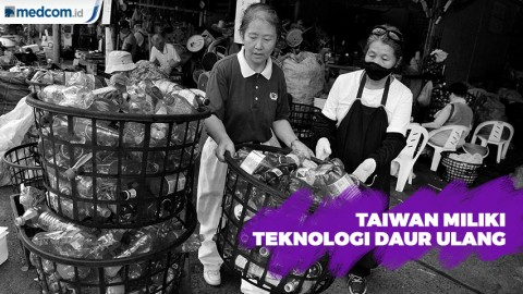 Taiwan Miliki Teknologi Daur Ulang