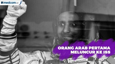 Hazza Ali Al Mansoori Jadi Orang Arab Pertama Meluncur ke ISS