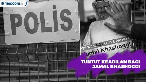 Tuntut Keadilan Bagi Kematian Khashoggi