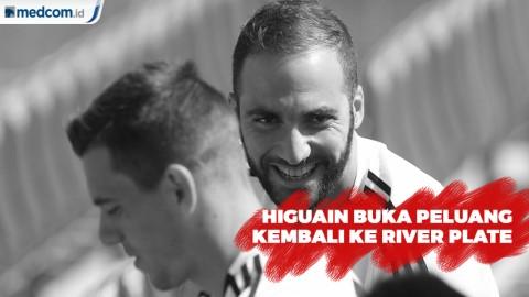 Higuain Tidak Menutup Peluang Kembali ke  River Plate
