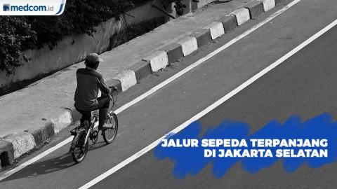 Jalur Sepeda Terpanjang di Jakarta Selatan Akan Dibuat