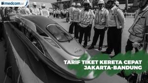 Tiket Kereta Cepat Jakarta-Bandung Paling Murah Berkisar Rp300 Ribu