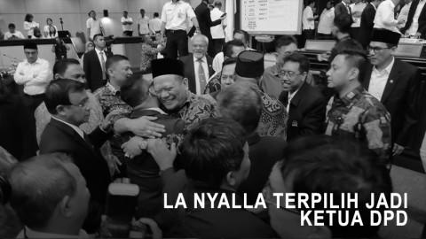La Nyalla Terpilih Jadi Ketua DPD