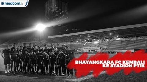 Bhayangkara FC Kembali ke Stadion PTIK