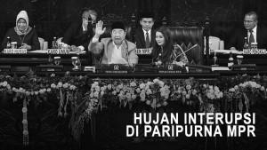 Hujan Interupsi di Rapat Paripurna MPR