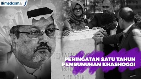 Peringatan Satu Tahun Pembunuhan Khashoggi