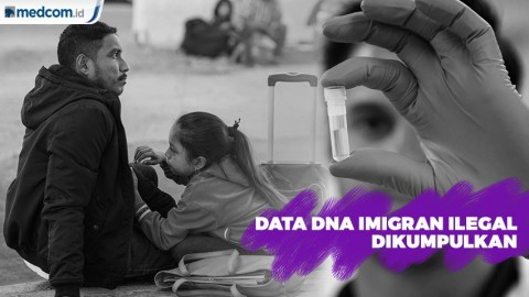 Data DNA Imigran Ilegal AS Dikumpulkan