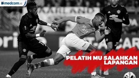 MU Gagal Menang, Pelatih Salahkan Lapangan