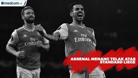 Arsenal Menang 4-0 Atas Standard Liege