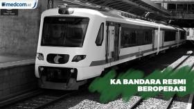 KA Bandara Resmi Beroperasi dari Stasiun Manggarai