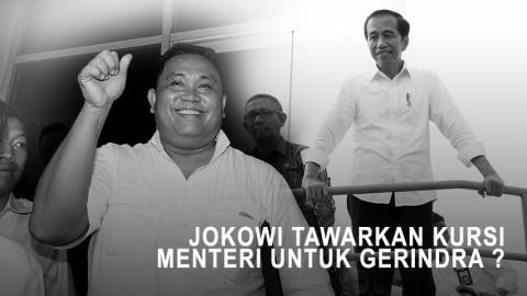 Highlight Prime Talk - Jokowi Tawarkan Menteri Untuk Gerindra ?
