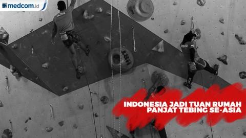 Indonesia Jadi Tuan Rumah Kejuaraan Panjat Tebing se-Asia
