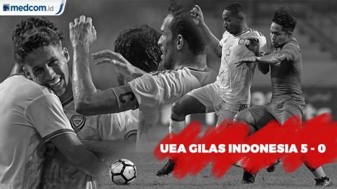 UEA Gilas Indonesia 5-0