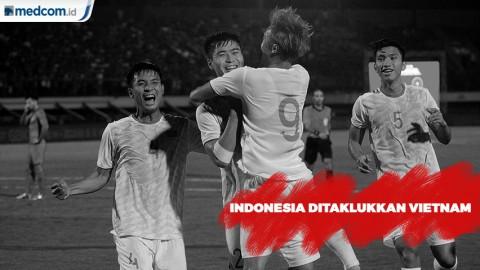 Timnas Indonesia Ditaklukkan Vietnam 1-3