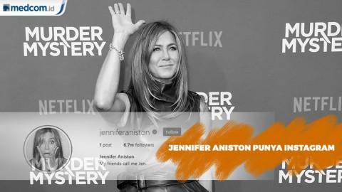 Selamat Bergabung Jennifer Aniston di Instagram
