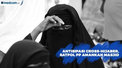 Antisipasi Cross-Hijaber, Satpol PP Amankan Masjid