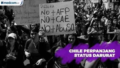 Pemerintah Chile Perpanjang Status Darurat