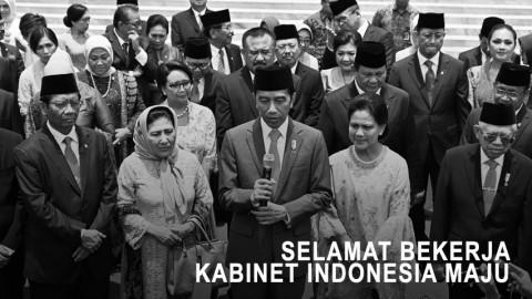 Selamat Bekerja Kabinet Indonesia Maju