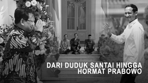 Pelantikan Kabinet: Dari Duduk Santai hingga Hormat Prabowo