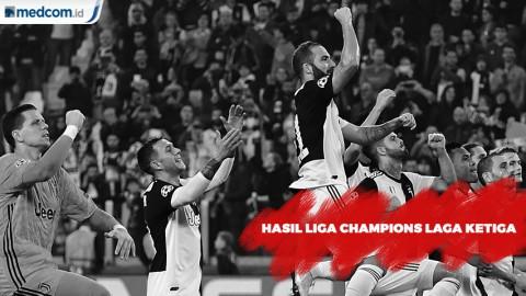 Hasil Liga Champions Tadi Malam: PSG dan City Pesta Gol