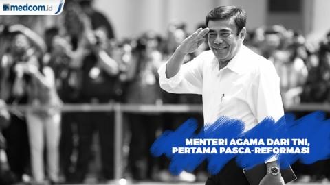 Menteri Agama dari TNI Pertama Pasca Reformasi