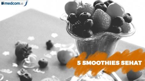 Smoothies Sehat Kaya Manfaat untuk Sarapan